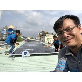 Thi công điện năng lượng mặt trời tại Bình Dương