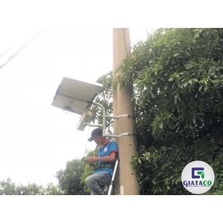 Thi công Năng lượng mặt trời cho An ninh giao thông